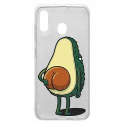 Чохол для Samsung A30 Funny avocado