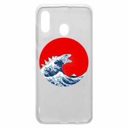 Чохол для Samsung A30 Godzilla Wave