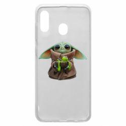 Чохол для Samsung A30 Grogu and Kermit