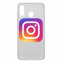 Чохол для Samsung A30 Instagram Logo Gradient