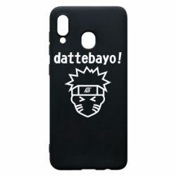 Чохол для Samsung A30 Naruto dattebayo!