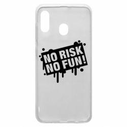 Чохол для Samsung A30 No Risk No Fun