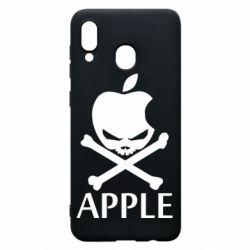 Чехол для Samsung A30 Pirate Apple