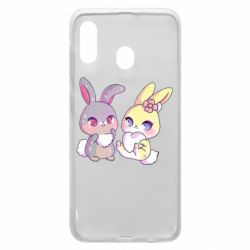 Чохол для Samsung A30 Rabbits In Love