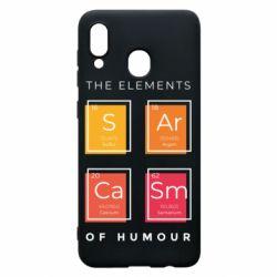 Чохол для Samsung A30 Sarcasm