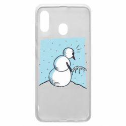 Чохол для Samsung A30 Snowman. It's Cold!
