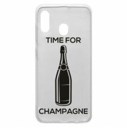 Чохол для Samsung A30 Time for champagne