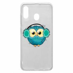 Чехол для Samsung A30 Winter owl