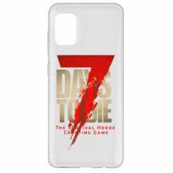 Чохол для Samsung A31 7 Days To Die