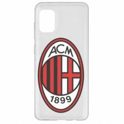Чохол для Samsung A31 AC Milan