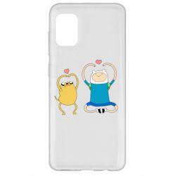 Чохол для Samsung A31 Adventure time