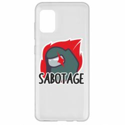 Чохол для Samsung A31 Among Us Sabotage