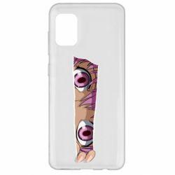 Чохол для Samsung A31 Anime girl peeping