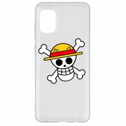 Чохол для Samsung A31 Anime logo One Piece skull pirate
