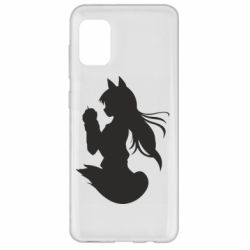 Чехол для Samsung A31 Anime Spice and Wolf