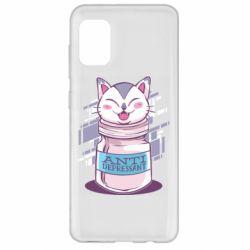 Чехол для Samsung A31 AntiDepressant Cat