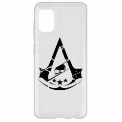 Чехол для Samsung A31 Assassin's Creed and skull 1
