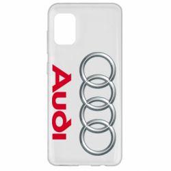 Чохол для Samsung A31 Audi 3D Logo