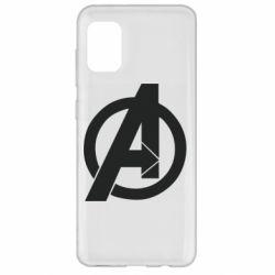 Чохол для Samsung A31 Avengers logo