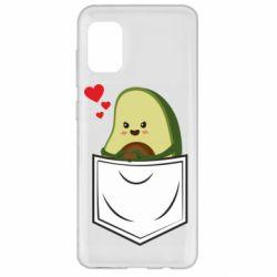 Чехол для Samsung A31 Avocado in your pocket