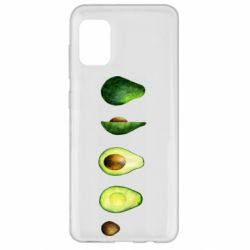 Чехол для Samsung A31 Avocado set