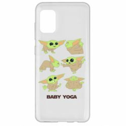 Чехол для Samsung A31 Baby Yoga