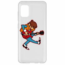 Чехол для Samsung A31 Back to the Future Marty McFly