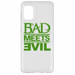 Чехол для Samsung A31 Bad Meets Evil