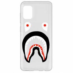 Чехол для Samsung A31 Bape shark logo