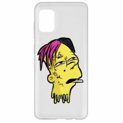 Чехол для Samsung A31 Bart as Lil Peep