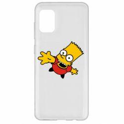 Чехол для Samsung A31 Барт Симпсон