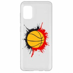 Чехол для Samsung A31 Баскетбольный мяч