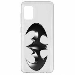 "Чехол для Samsung A31 Batman ""3d Logo"""