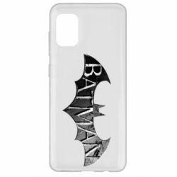 Чехол для Samsung A31 Batman: arkham city