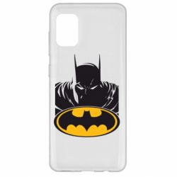 Чехол для Samsung A31 Batman face