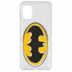 Чехол для Samsung A31 Batman Gold Logo