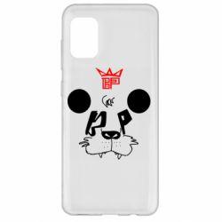 Чехол для Samsung A31 Bear panda