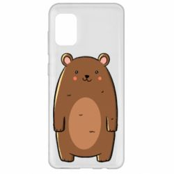 Чехол для Samsung A31 Bear with a smile
