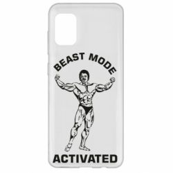 Чехол для Samsung A31 Beast mode activated