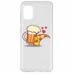 Чохол для Samsung A31 Beer and Pizza were kissed