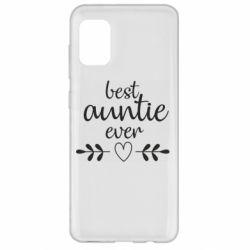 Чохол для Samsung A31 Best auntie ever