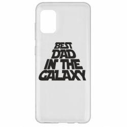 Чехол для Samsung A31 Best dad in the galaxy