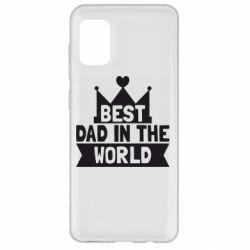 Чехол для Samsung A31 Best dad in the world