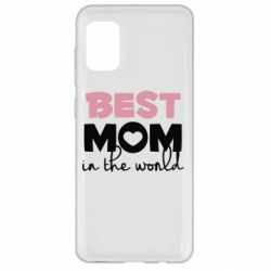 Чохол для Samsung A31 Best mom