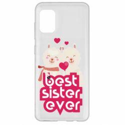 Чохол для Samsung A31 Best sister ever