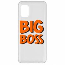 Чехол для Samsung A31 Big Boss