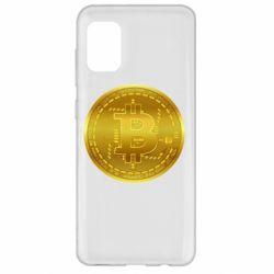Чохол для Samsung A31 Bitcoin coin