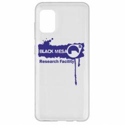 Чехол для Samsung A31 Black Mesa