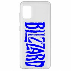 Чохол для Samsung A31 Blizzard Logo