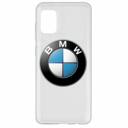 Чехол для Samsung A31 BMW Logo 3D